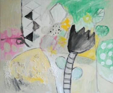 """Saatchi Art Artist Malgorzata Kobus; Painting, """"the secret garden"""" #art"""