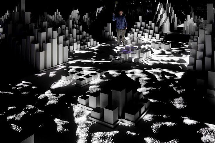 'High Arctic' interactive space by United Visual Artists