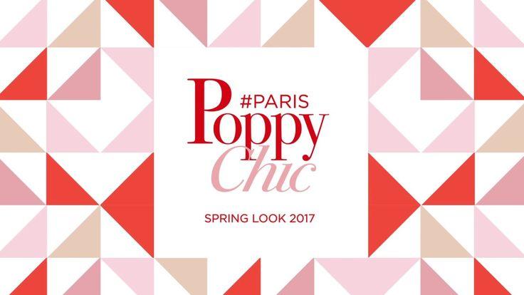 Teaser du Look printemps 2017 Bourjois Paris Poppy Chic