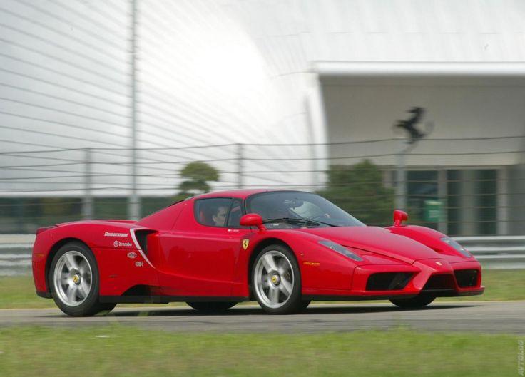 Cherry Red Ferrari Enzo