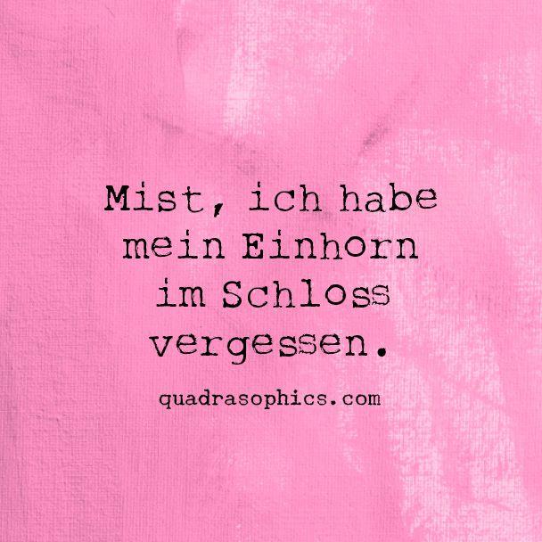#Mist.., ich hab mein #Einhorn...