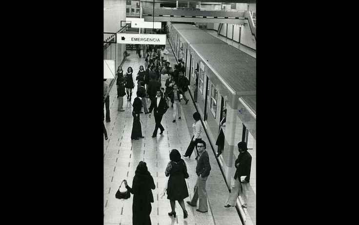 Metro de Santiago cumple 40 años desde su 1er viaje
