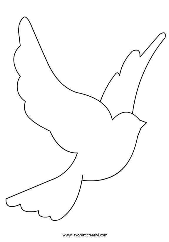 Birds outline - photo#12