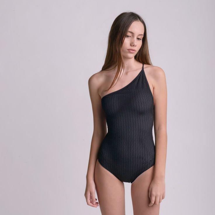 TWO SIDE B&W BODYSUIT by bodysuits on Etsy