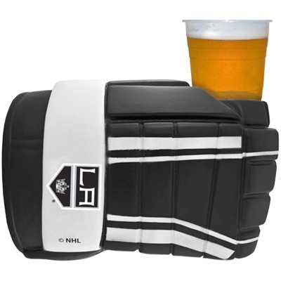 Los Angeles Kings Hockey Glove Drink Holder, fun way to cheers to your Kings!