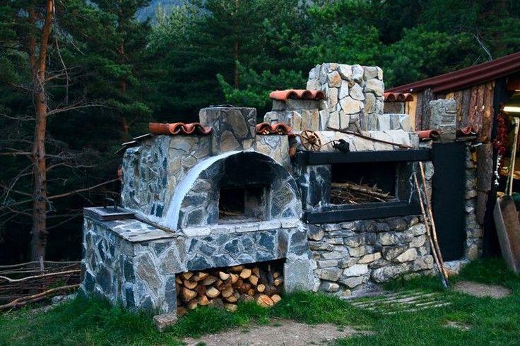 Barbecue en pierre pour équiper la cuisine d'été en 35 idées originales
