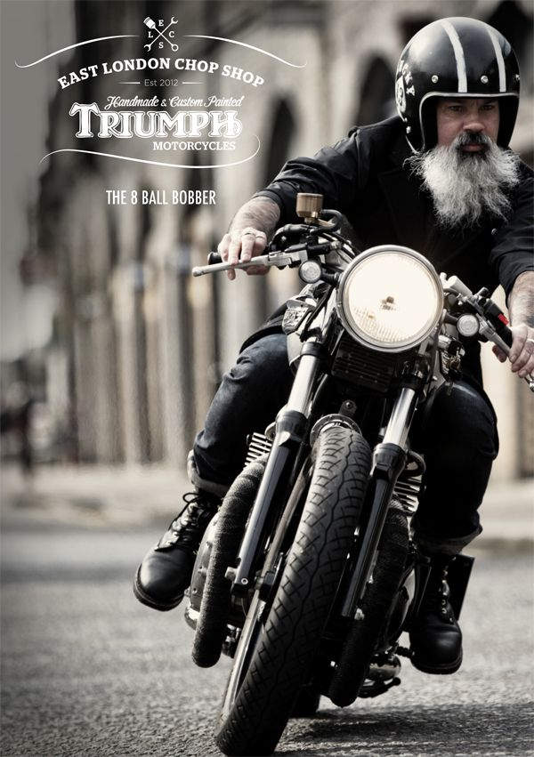bobber motorcycle clothing style | This is the first of two motorcycles I recently shot for the East ...