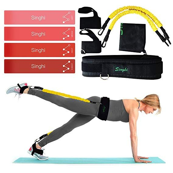 2a1242ed2ba8 Singhi Booty Bands Set Booty Lift Belt System Workout Equipement for ...