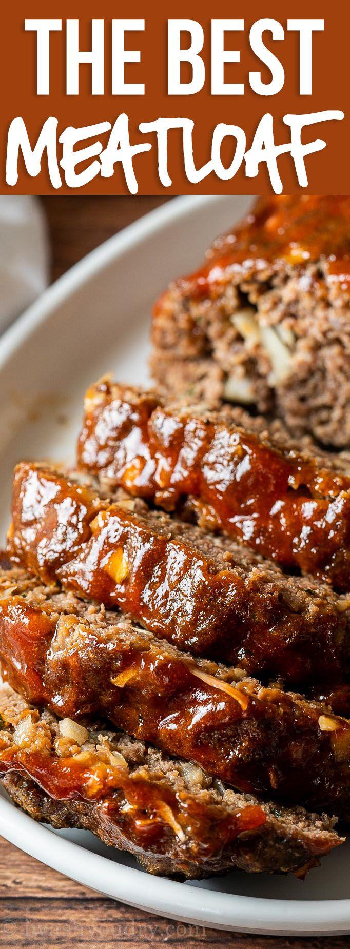 Best Classic Meatloaf Recipe Recipe Classic Meatloaf Recipe Good Meatloaf Recipe Meatloaf Dinner