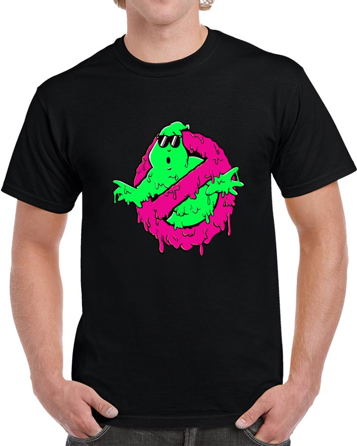 Ghostbusters Melting  T Shirt