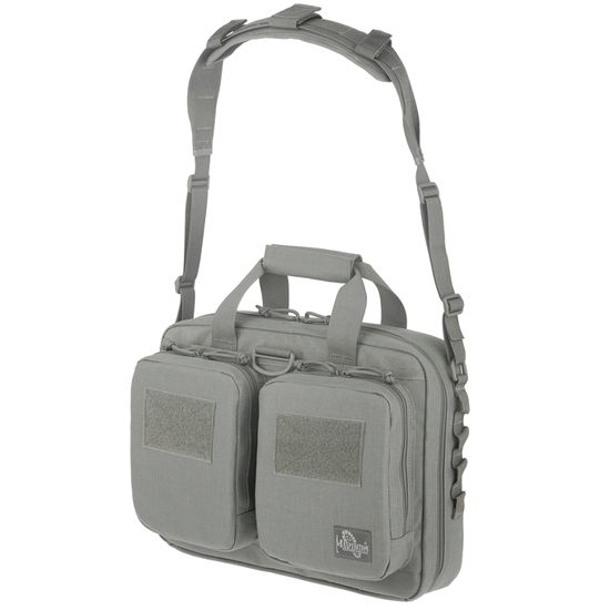 Item #: PK-0590 - This tactical laptop bag not only looks good but is rugged enough to protect your digital equipment. This Maxpedition bag is great for traveling and makes the airline checkpoint a breeze.
