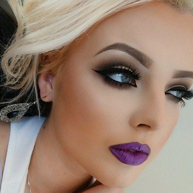 Satanic Barbie Dollpinterest: ♥Swag*Girl*Make Up* Hair ...