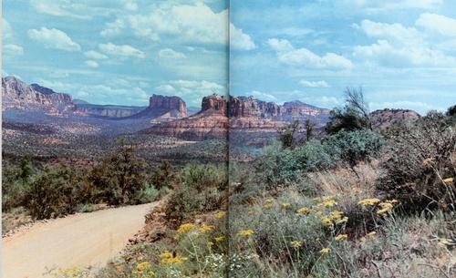open pages: Amazing Southwest, Ranch Colors, Trendy Travel, Colors Inspiration