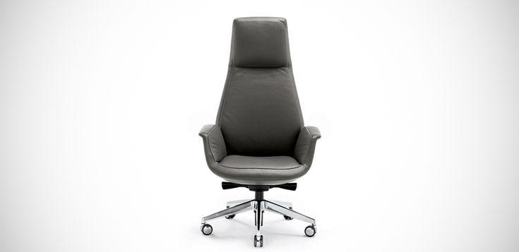 DownTown modern armchair by Poltrona Frau, design Jean-Marie Massaud