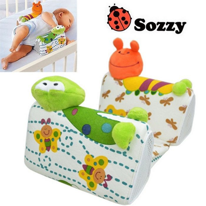Baby Pillow Anti-Roll Infant Sleep Positioner Newborn Toddler Sleep Nursing Pillow
