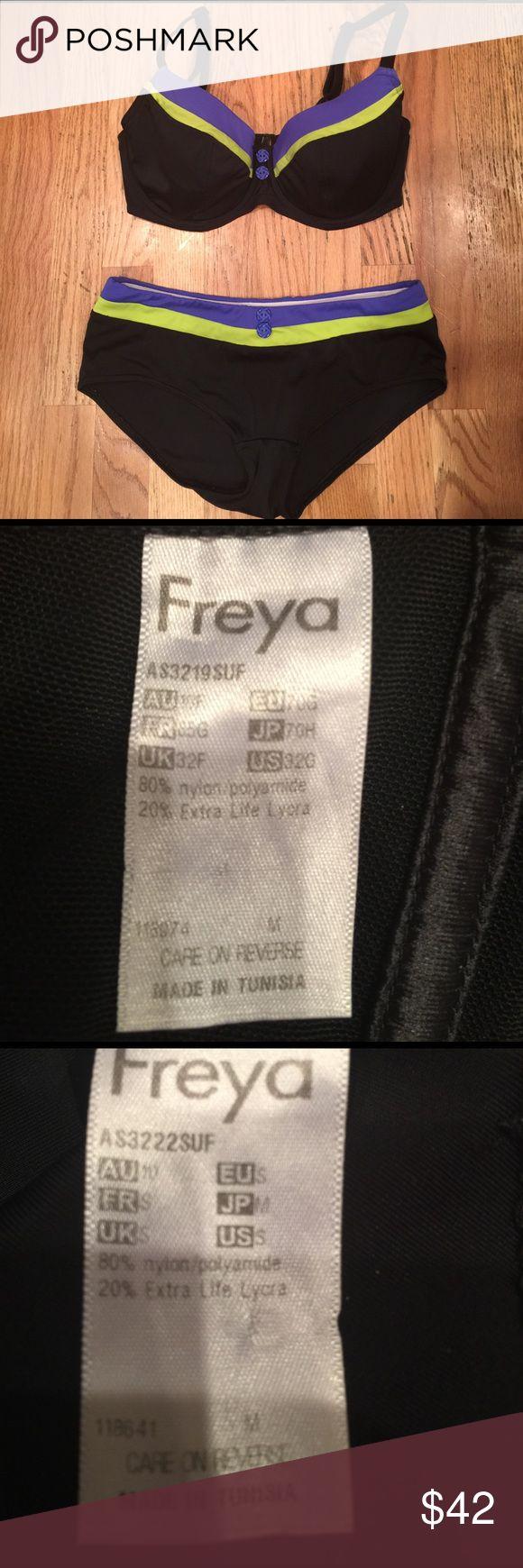 Freya bikini Super cute underwire top. Gently used Freya Swim Bikinis