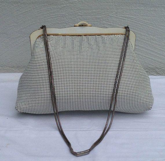 Vintage Oroton Ivory Handbag Glomesh By Justwhatawomanneeds 45 00