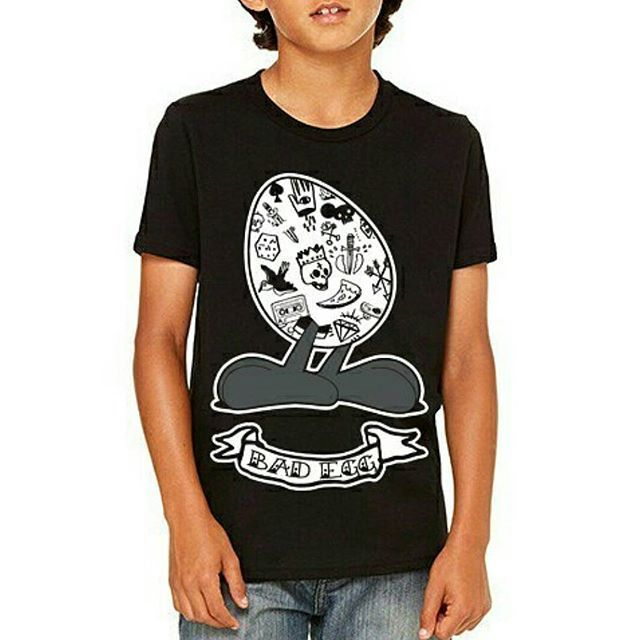 "CRMC Kidswear ""Bad Egg"" Kids Tee available at www.crmc-clothing.co.uk | WE SHIP WORLDWIDE #badegg #kids #kidsfashion #kidswear #cute #supercute #alt #altwear #altfashion #altstyle #alternative #alternativefashion #alternativestyle #instafashion #fashionstatement #fashiongram #instastyle #stylegram #instagrunge #fashionoftheday #dailyfashion #grungefashion #grunge #grungewear #grungestyle #tattoos #alternativeguy"
