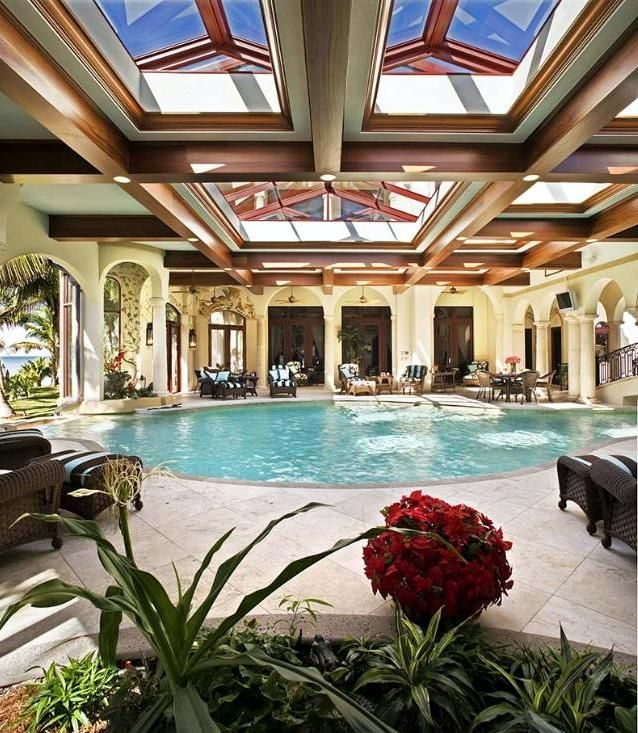 Luxury Home Indoor Swimming Pools: 51 Best Indoor Pools Images On Pinterest