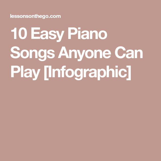 Best 25+ Easy Piano Songs Ideas On Pinterest