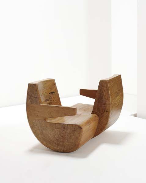 Wooden Chair by Zanine Caldas