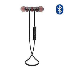 MAXAH® Bluetooth 4.1 casque stéréo, Bluetooth Casque de Sport,Écouteurs intra-auriculaire ,écouteurs stéréo filaire,OreilletteBluetooth…
