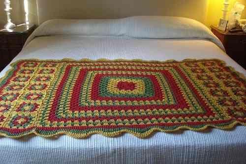 17 best images about pie de cama on pinterest bed - Mantas pie de cama ...