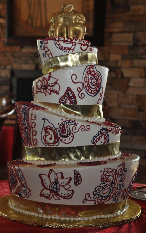 Indian Wedding Cake Designs