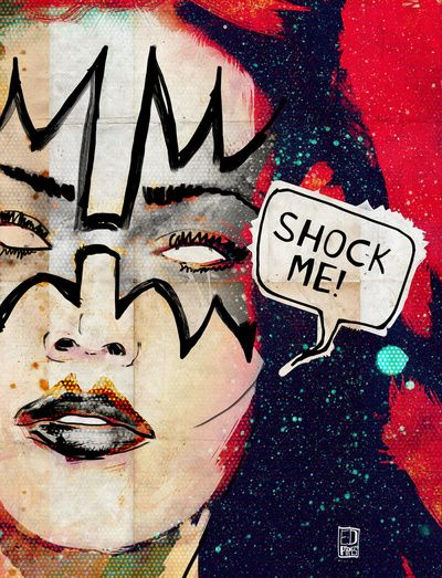 Kiss/Ace Frehley/Space Ace/Shock Me Art Print by Ed Pires