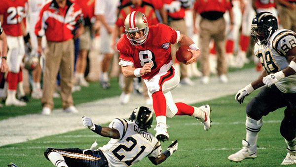 San Francisco 49ers Super Bowl Wins | Super Bowl XXIX | San Diego Chargers vs. San Francisco 49ers ...