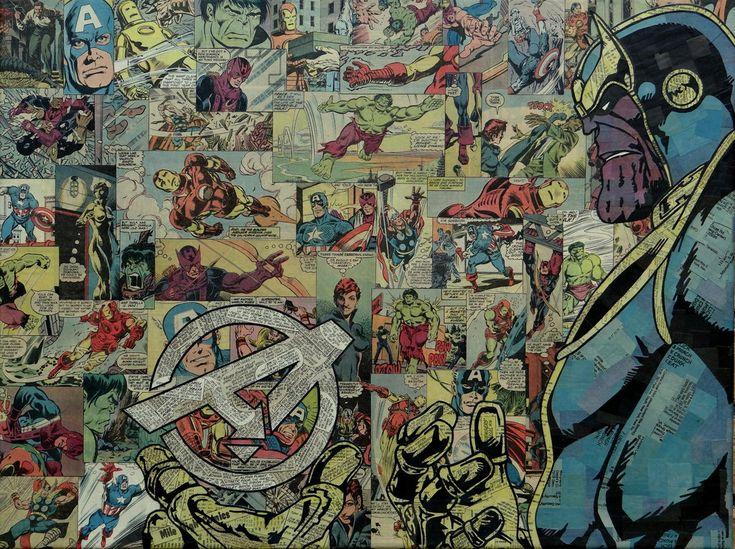 Thanos - Avengers by ~MikeAlcantara on deviantART
