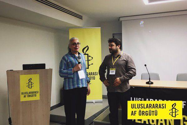 'İnsan Hakları Savunucularının Korunması' Toplantısında, Af Örgütü Türkiye Direktörü Dâhil 12 Gözaltı