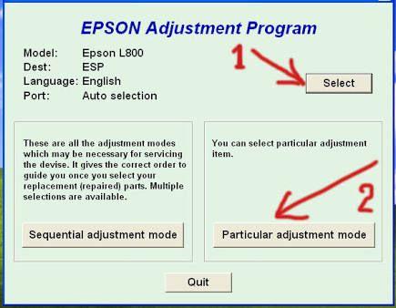 Epson adjustment program resetter l355