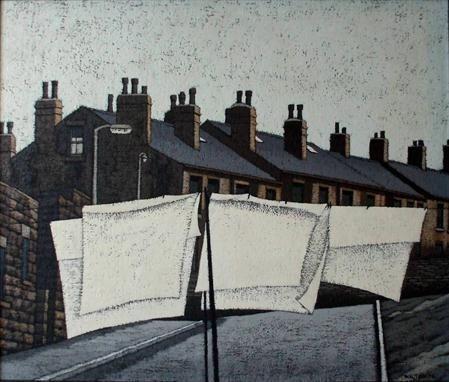 "Northern art: ""Wash Day""..Artwork by Stuart Walton, Yorkshire lad.."