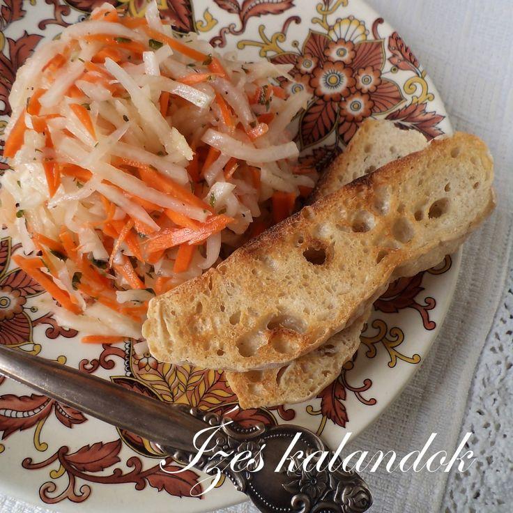Törökországban kedvelt téli saláta a téli retekből, azaz diakon vagy ismertebb nevén jégcsapretekből készített saláta. Sült húsokhoz,...