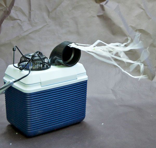 DIY air conditioner - for camping on those super hot days when the tent feels like 1000 degrees