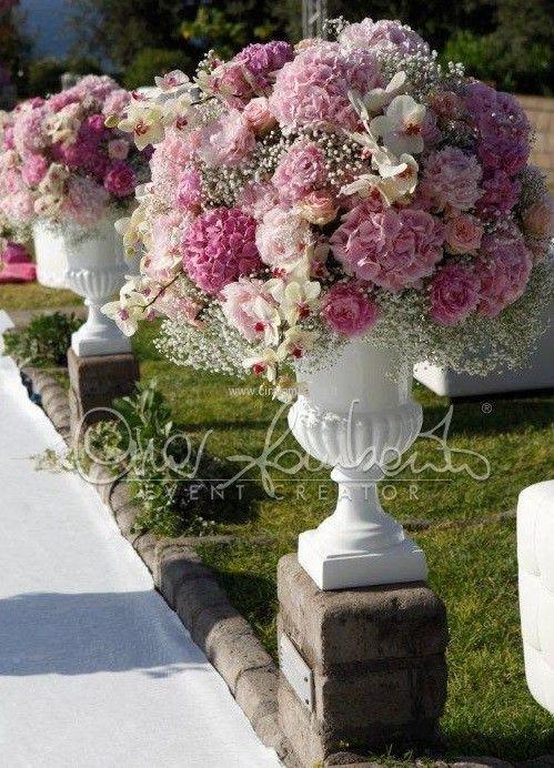 Matrimonio Tema Ortensie : Più di fantastiche idee su addobbi floreali matrimonio