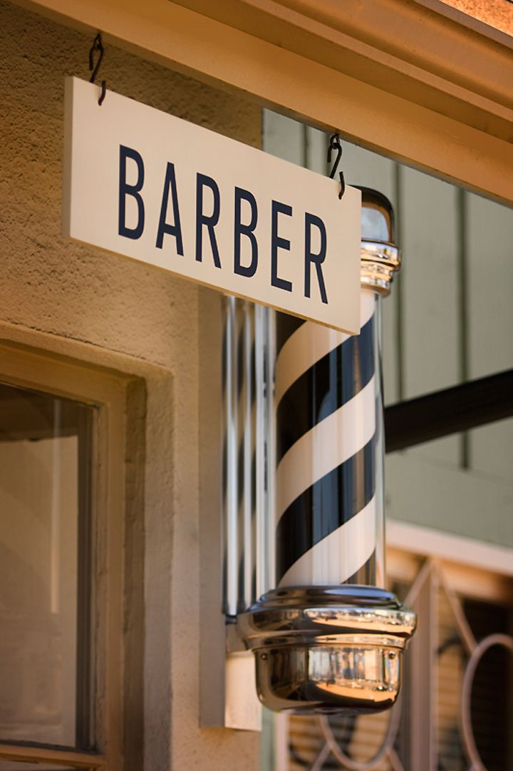 HAIRDRESSER! Baxter Finley, Barber & Shop, Los Angeles store design