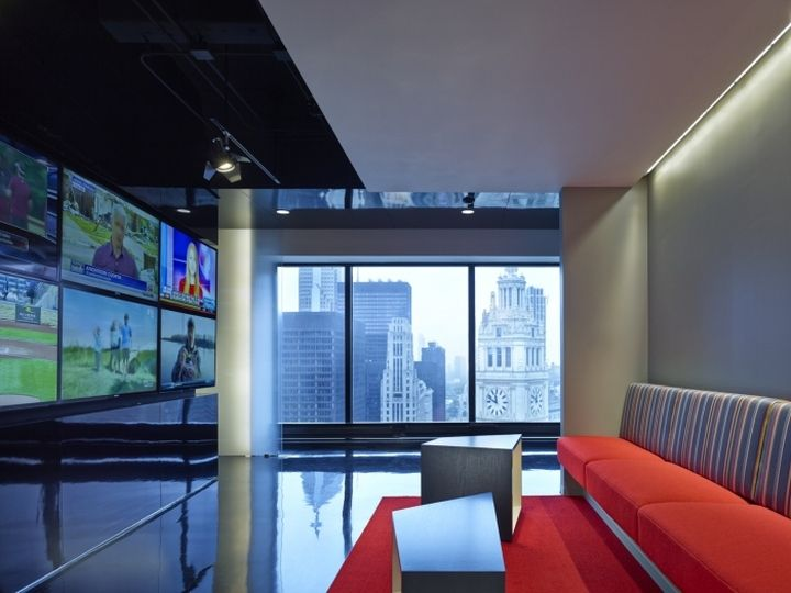 Comcast Spotlight Offices By CannonDesign Chicago Illinois Retail Design Blog