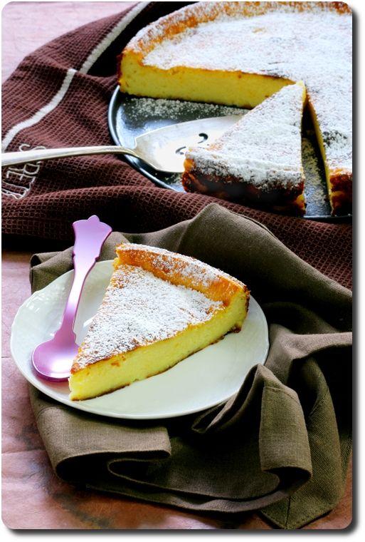 Migliaccio napolitain (gâteau de semoule à la ricotta et limoncello)