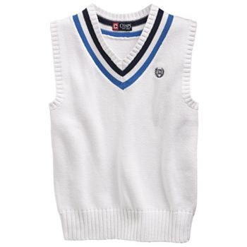Chaps Sweater Vest - Boys 8-20 - Kohls - to make Aladdin Vest