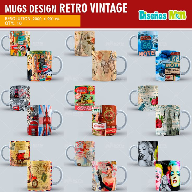 16 best RETRO VINTAGE images on Pinterest | Backgrounds, Mugs and ...