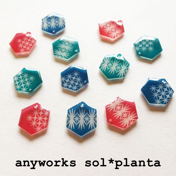 any works sol*planta**消しゴムはんこ*島ぞうりアート*プラバン*紙雑貨*山梨県**