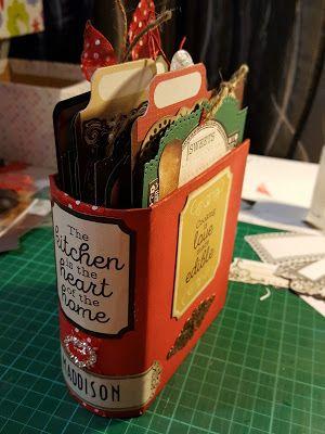 Artfull Crafts - Kaisercraft 'Bon Appetit' Recipe Book Box