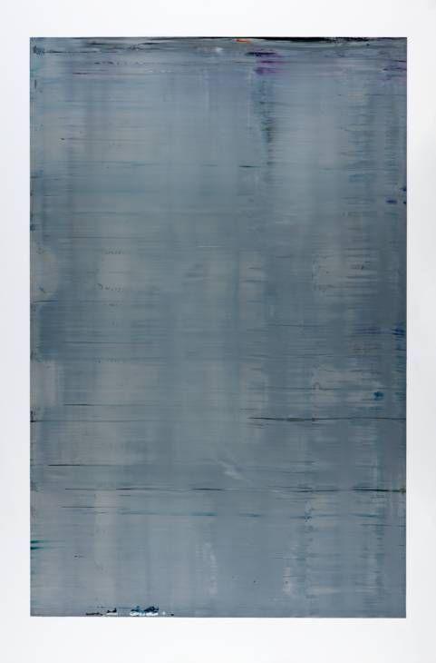 Gerhard Richter, 'Abstract Painting (Grey) (880-3)' 2002 #dreamlivingroom #dream living room