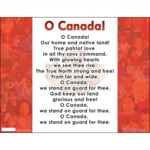 Best 25 o canada french ideas on pinterest french chateau o o canada flag chart english stopboris Choice Image
