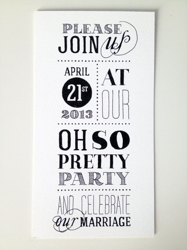 Wedding stationery by Oh So Pretty Paper