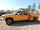 1993 Chevrolet C/K Pickup 3500 Cheyenne 1993 Chevrolet Cheyenne C3500 Crew Cab Service Truck in Mississippi NO RESERVE