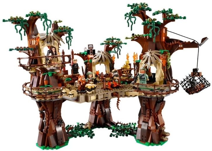 Lego reveals 1,990 piece Lego Ewok Village - Pocket-lint