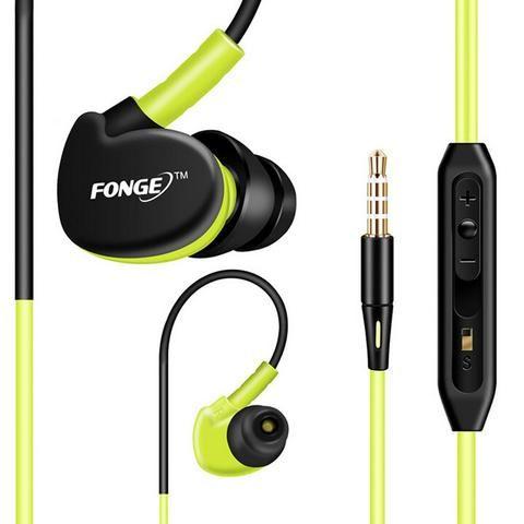 Sport Headphones Waterproof  Earphones Running Sweatproof  Stereo Bass Music…